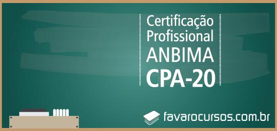 Preparatório Anbima CPA-20